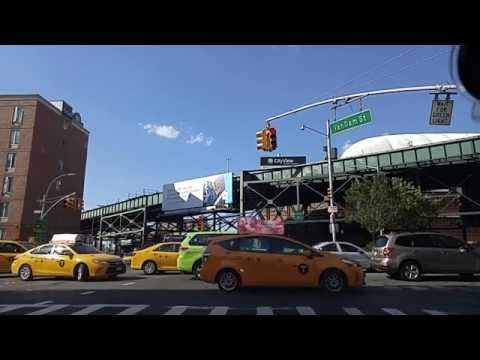 Driving from Long Island City Queens to Midtown East Manhattan,New York