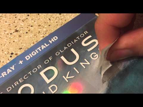 Getting stickers off blu ray slipcovers