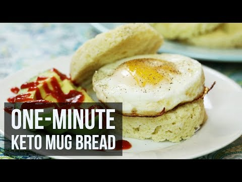 One-Minute Keto Mug Bread | Quick Low Carb Bread Recipe by Forkly