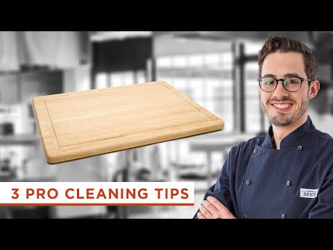 How to Clean and Remove Stains and Smells From Wooden Spoons and Cutting Boards and More Tips