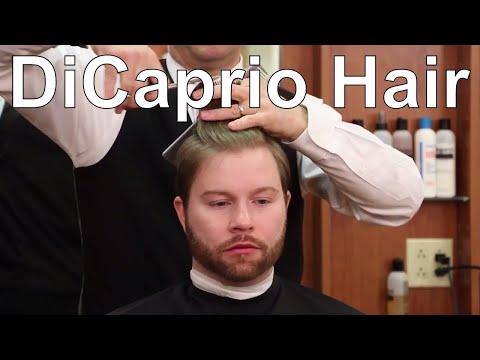 Leonardo DiCaprio's Great Gatsby Hairstyle - Greg Zorian Haircut Tutorial