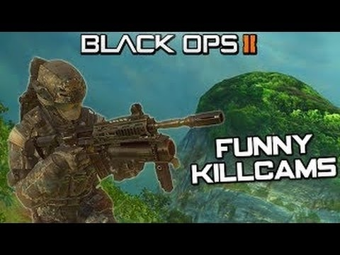 Call Of Duty Black Ops 2 FUNNY mini KILLCAM MONTAGE