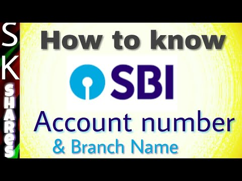How to know sbi account number - Online SBI