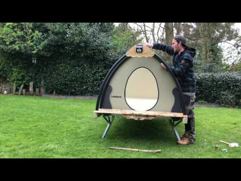Building a Glamping pod (The Cosy Cocoon)