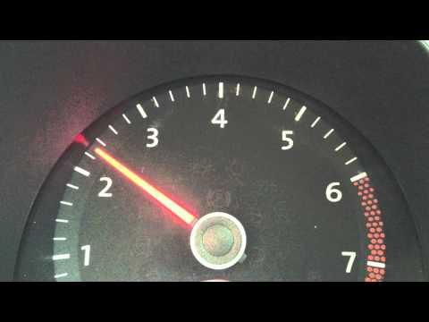 VW DPF (Diesel Particulate Filter) light reset -