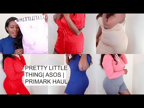 PLUS SIZE | PRETTY LITTLE THING, PRIMARK, BOOHOO SPRING HAUL