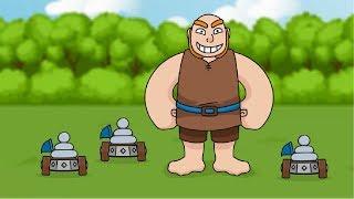Clash Royale Animation #31: HUNTER & ZAPPIES (Parody)