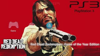 Red Dead Redemption - PS3 Gameplay