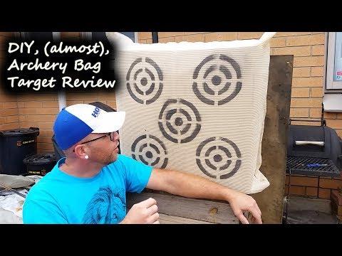 DIY, (almost), Archery Bag Target Review