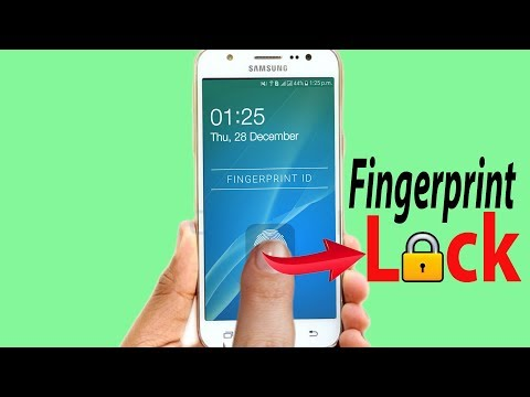 No Root How To Get Real FingerPrint Lock Screen On Any Android Device