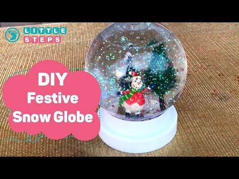 How To Make Your Own Snow Globe?
