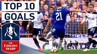 The Best Emirates FA Cup Goals of 2016/17! | From The Archive