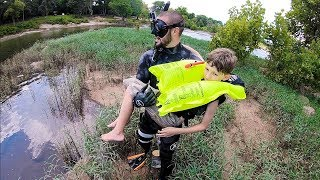 Rescuing Six Lives From FATAL Mistake At River! (deadly)