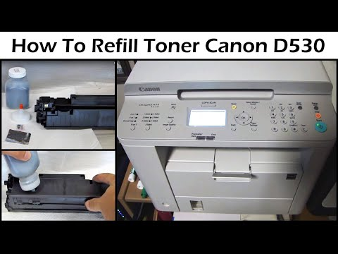 Canon D530 Laser Printer Toner Refill - Cartridge 128