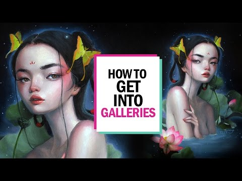HOW TO GET INTO GALLERIES 🎨 Studio Sessions Ep. 7
