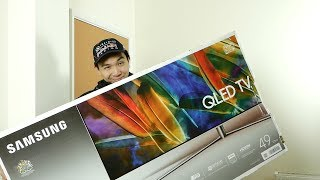 Samsung 49-inch Q7F QLED TV Review