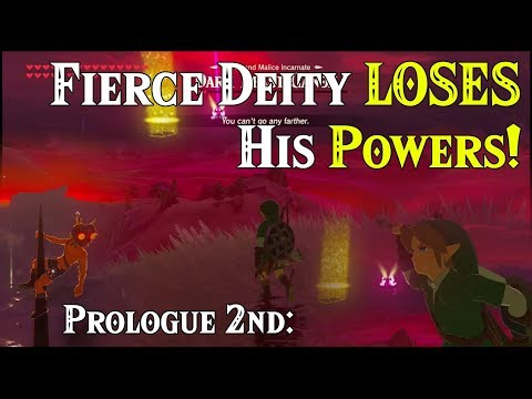 Prologue 2nd: ALL Links! Fierce Deity LOSES His Powers! Majora's Mask in FLA within Zelda BotW