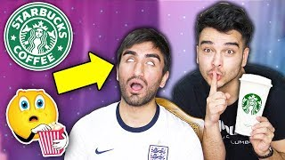We Only Drank STARBUCKS for 24 HOURS and THIS HAPPENED.... (INSANE CAFFEINE CHALLENGE)