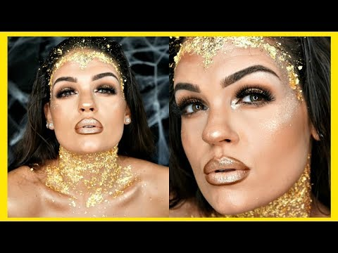 Gold Foil Makeup Tutorial Gold Makeup