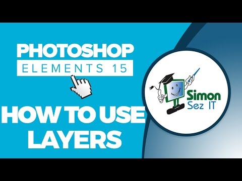How to Use Layers in Photoshop Elements 15 - Part 1 - Introduction to Layers