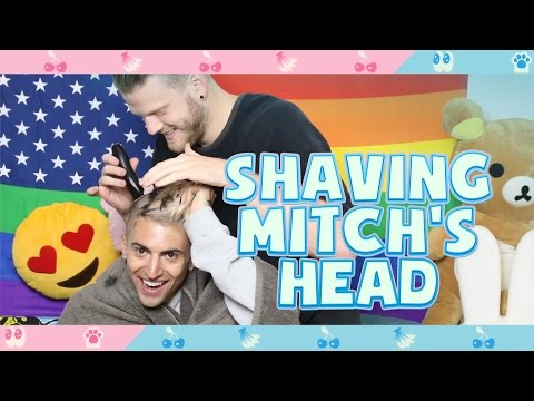 SHAVING MITCH'S HEAD!