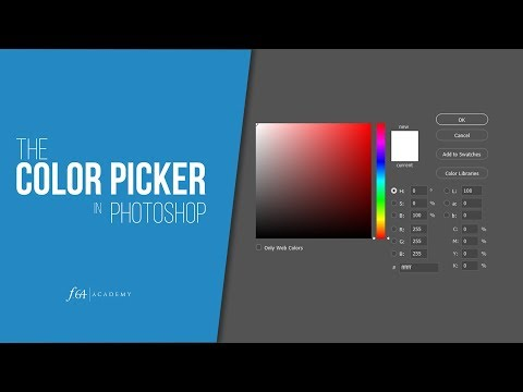 The Color Picker in Photoshop