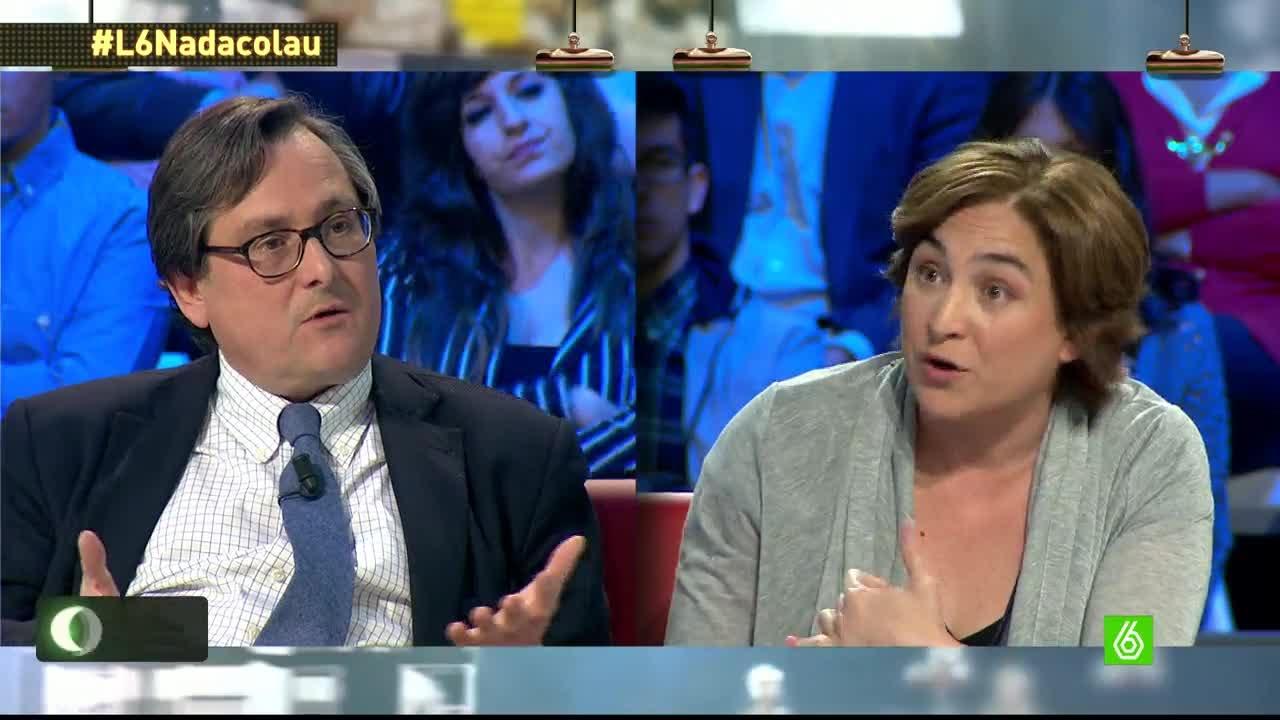 """Ada Colau: """"Si llego a alcaldesa de Barcelona me bajaré el sueldo a 2.200 euros netos"""""""