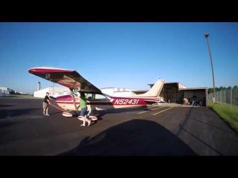 4 Puppy Full Length Flight Video ATC IFR