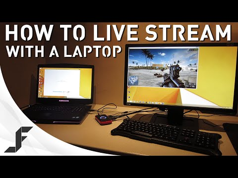 How to Live Stream games with a Laptop!