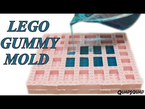 Make a LEGO Silicone Gummy Mold!