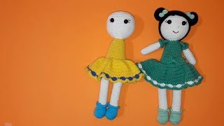 5. AMIGURUMI JULIET BEBEK Kafa (Crochet head Tutorial) - YouTube | 180x320