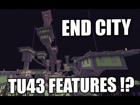 Minecraft PS4 - END CITY - TU43 FEATURE ( PS3 / XBOX / WII U )