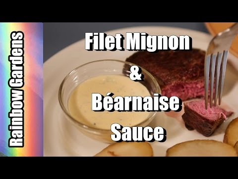 4K Yum! Béarnaise Sauce with Filet Mignon Recipe - How to Make  | THE KITCHEN