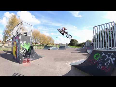 THE BMX RIDER THAT KEEPS ON GIVING.....