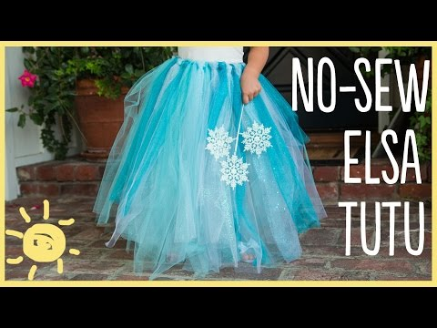 DIY | How to Make a No-Sew Tutu (Easy Halloween Costume!!)