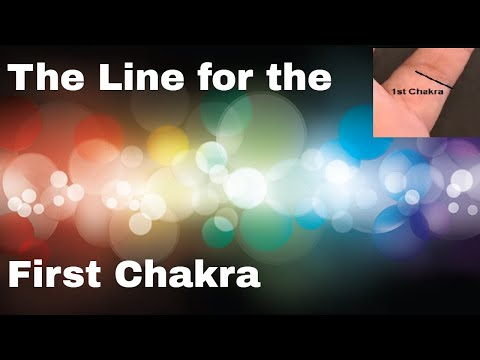 How to find the 1st Chakra in Palmistry - Line for Muladhara Chakra