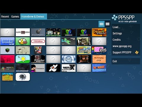 How to Download & Play PSP Games on Android with PPSSPP Emulator V1.30.1 UPDATED 2016