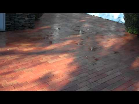 Valhalla Power Washing - Pressure Cleaning Mold Moss Brick Patio