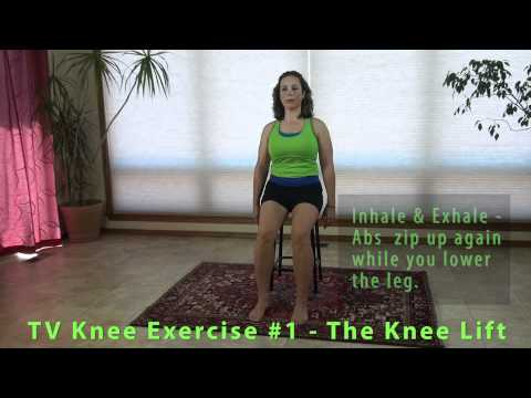 Resolving Knee Pain | Knee Strengthening Exercise - Seated Knee Lift