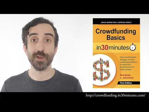 Author Michael J. Epstein: Why I published this crowdfunding book