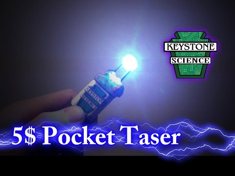 How to make a 5$ taser!