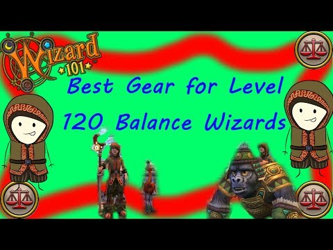 Wizard101: Best Gear for Level 120 Balance Wizards