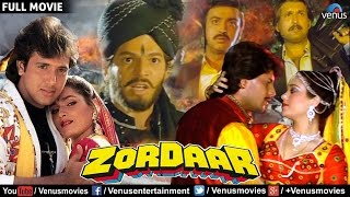 Zordaar - Full Movie | Bollywood Action Movies | Govinda Full Movies | Latest Bollywood Full Movies