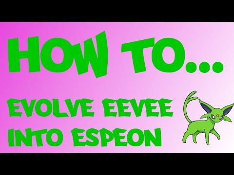 Pokemon Oras How To Evolve Eevee Into Espeon