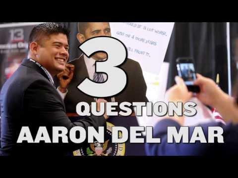3 Questions: Aaron Del Mar