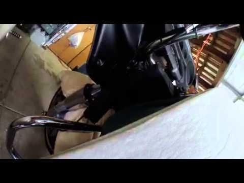 2014 Street Glide handlebar swap move main fairing