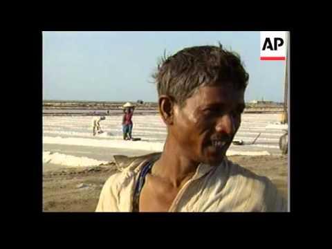 Gujarat prepares for a cyclone building in Arabian Sea.