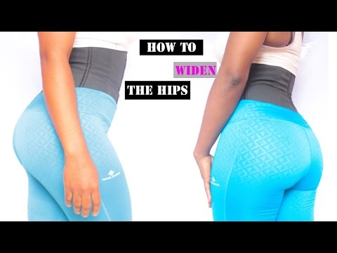 How to Get Wider Hips | 15 Band Exercises for Bigger/Wider Hips