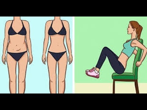 5 Chair exercise that will reduce your Belly fat while you sit