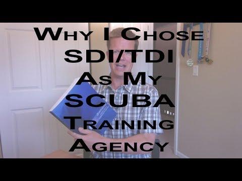 Why SDI TDI As My SCUBA Training Agency